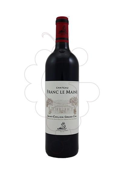 Foto Ch Franc Le Maine Saint Émilion vi negre