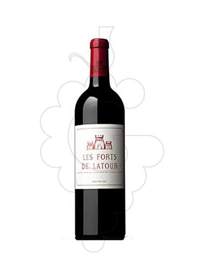 Foto Ch. Les Forts de Latour vi negre