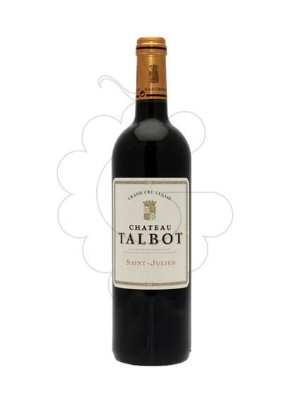 Foto Chateau Talbot vi negre