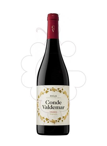 Foto Conde de Valdemar Crianza vi negre