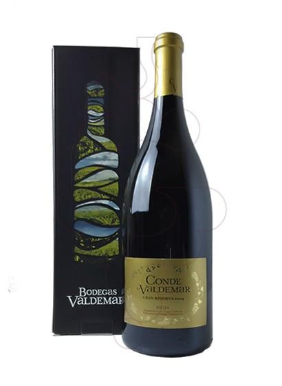 Foto Conde de Valdemar Gran Reserva Magnum vi negre