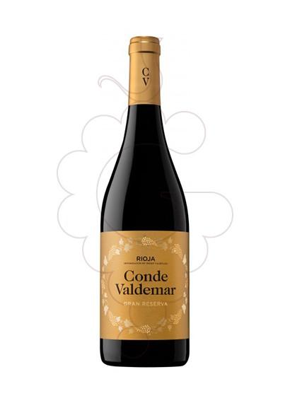 Foto Conde de Valdemar Gran Reserva vi negre