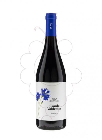 Foto Conde de Valdemar Tempranillo vi negre