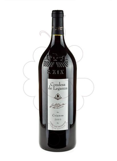 Foto Condesa de Leganza Tempranillo Magnum vi negre
