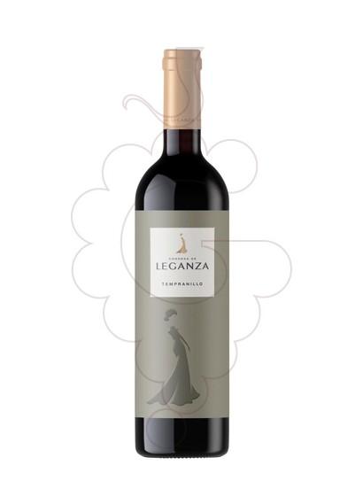Foto Condesa de Leganza Tempranillo vi negre