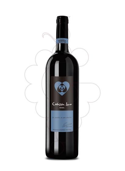 Foto Iniesta Corazon Loco Bobal vi negre