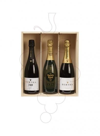 Foto Caixes Nadal Pack Cava + Vi Blanc