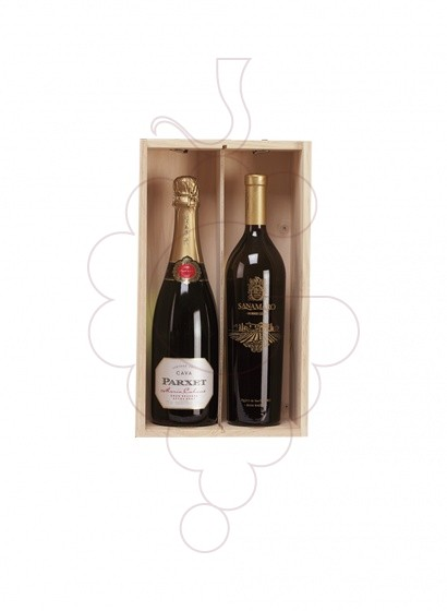 Foto Caixes Nadal Pack 3 Ampolles de Cava