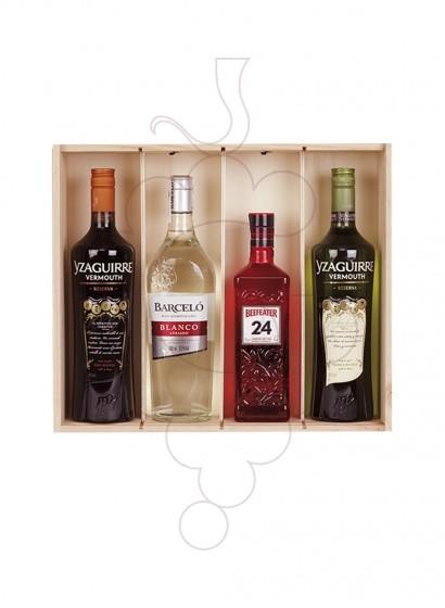 Foto Caixes Nadal Pack 2 Ampolles de Vi + Cava