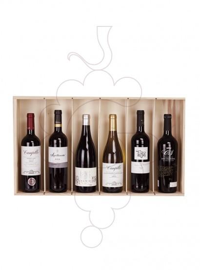 Foto Caixes Nadal Pack 6 Ampolles de Vi