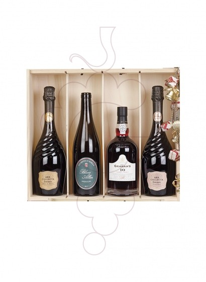 Foto Caixes Nadal Pack 4 Ampolles Variades