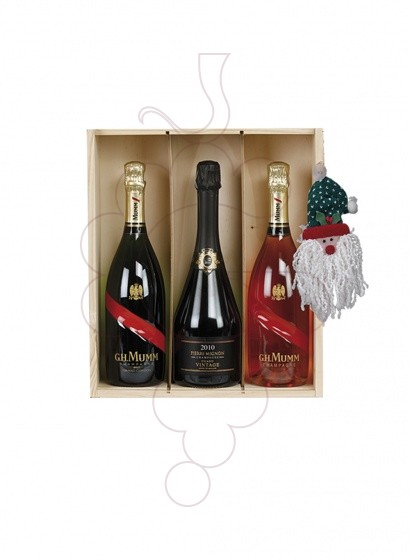 Foto Caixes Nadal Pack 3 Ampolles Whisky