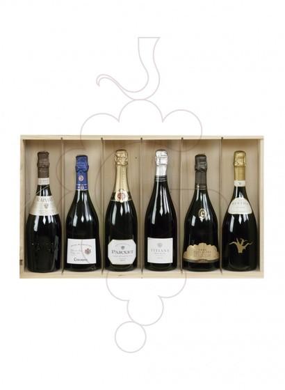 Foto Caixes Nadal Pack 5 Ampolles Cava + Escumós + Accessoris Vi