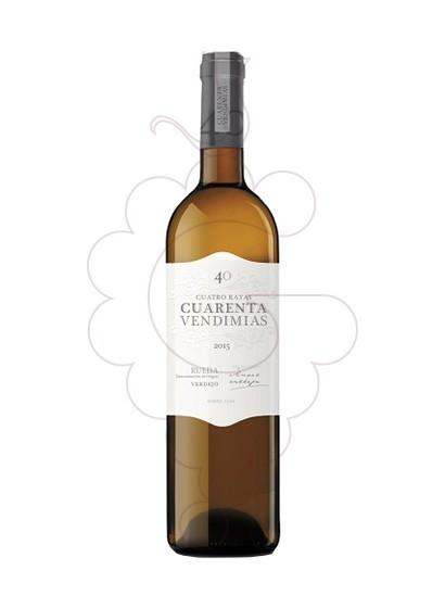 Foto Cuarenta Vendimias Verdejo Magnum vi blanc