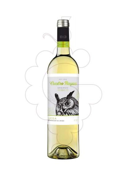 Foto Cuatro Rayas Verdejo vi blanc