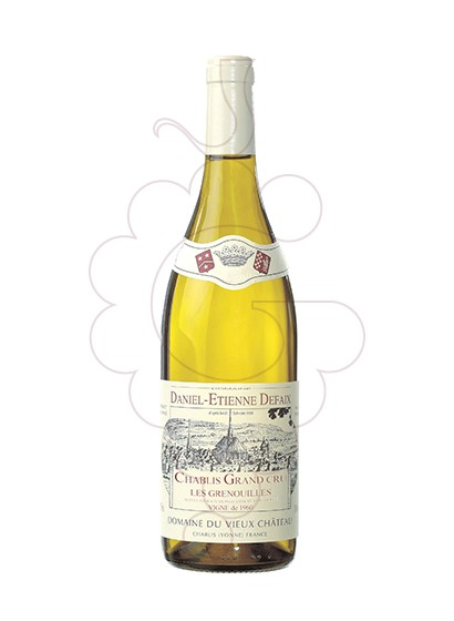 Foto Daniel-Etienne Defaix Chablis Grand Cru Grenouilles vi blanc