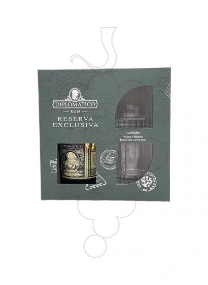 Foto Caixes regal Diplomático Reserva Exclusiva Pack (1 u + 2 Gots)