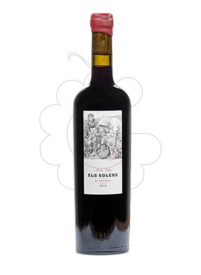 Foto Martí Fabra Els Solers vi negre