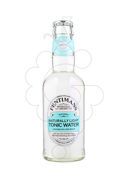 Foto Refrescs Fentimans light tonic botellin