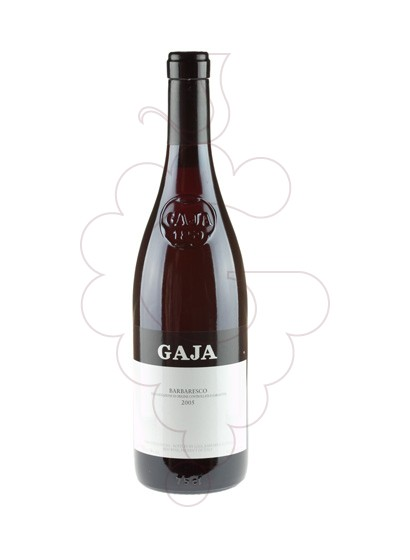 Foto Gaja Barbaresco  vi negre