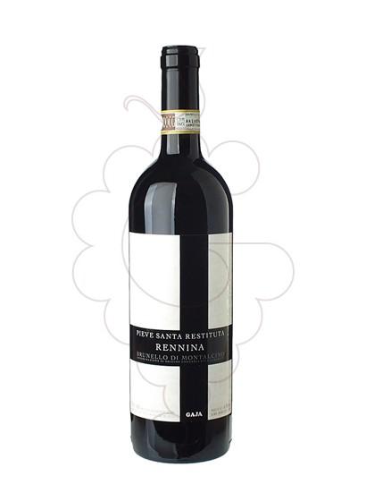Foto Gaja Pieve Santa Restituta Rennina Brunello di Montalcino vi negre