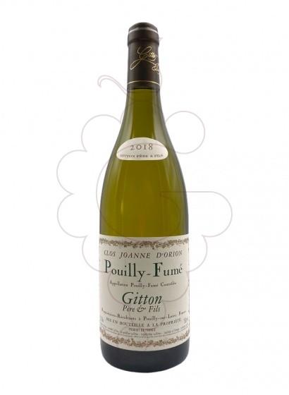 Foto Gitton Clos Joanne d'Orion Pouilly-Fumé vi blanc