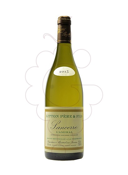 Foto Gitton L'amiral Sancerre vi blanc
