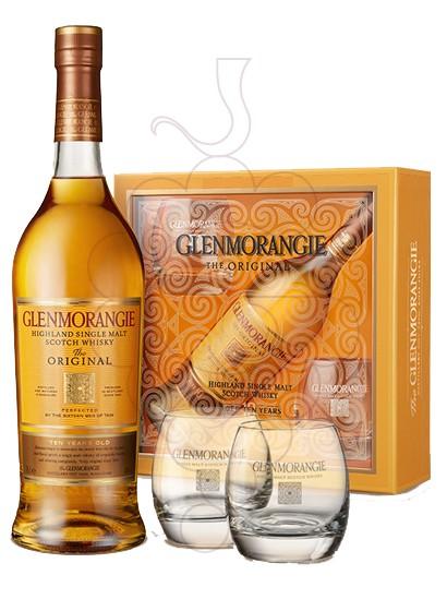 Foto Caixes regal Glenmorangie 10 Anys Pack (1 u + Gots)