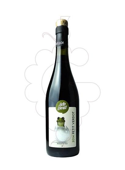 Foto Hello World Petit Verdot vi negre