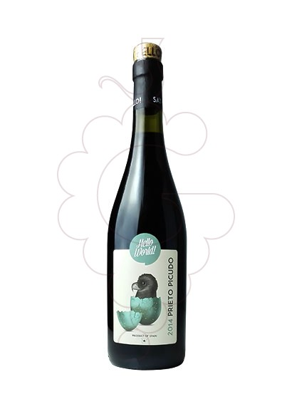 Foto Hello World Prieto Picudo vi negre