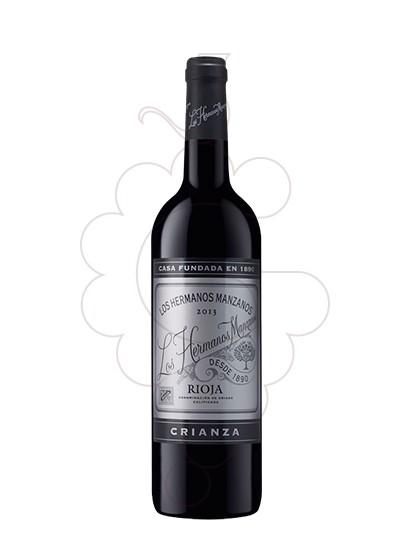Foto Hermanos Manzanos Crianza vi negre