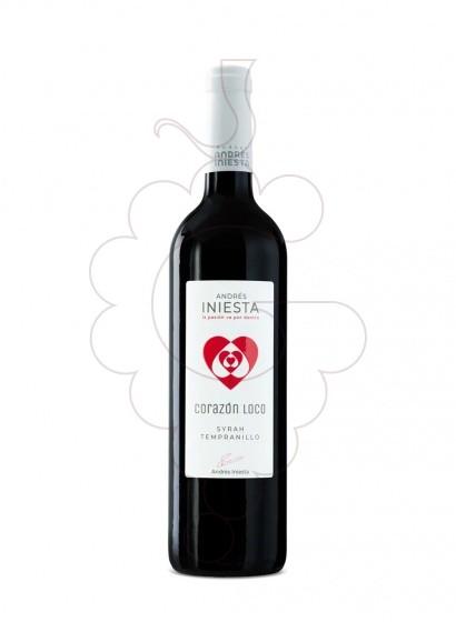 Foto Iniesta Corazon Loco Negre vi negre