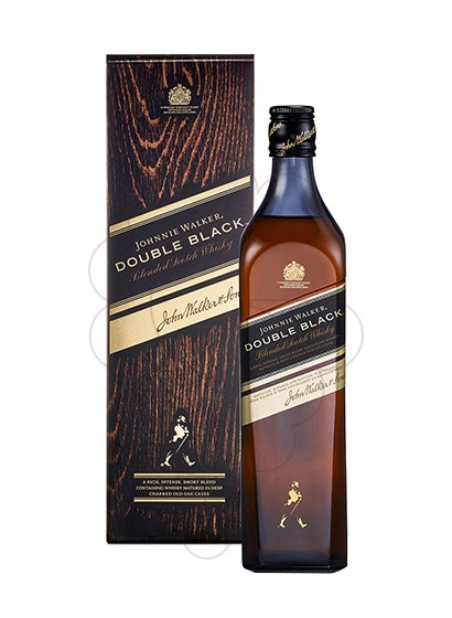 Foto Whisky Johnnie Walker Double Black