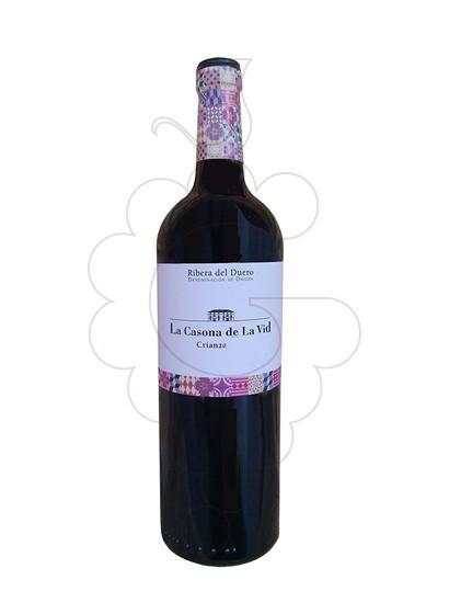 Foto La Casona de la Vid Crianza vi negre