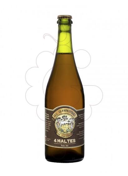 Foto Cervesa Les Clandestines 4 Maltes