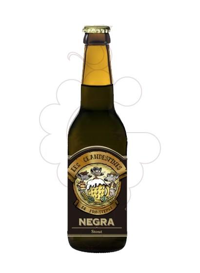 Foto Cervesa Les Clandestines Negra