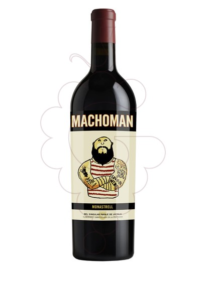 Foto MMM Macho Man Monastrell vi negre