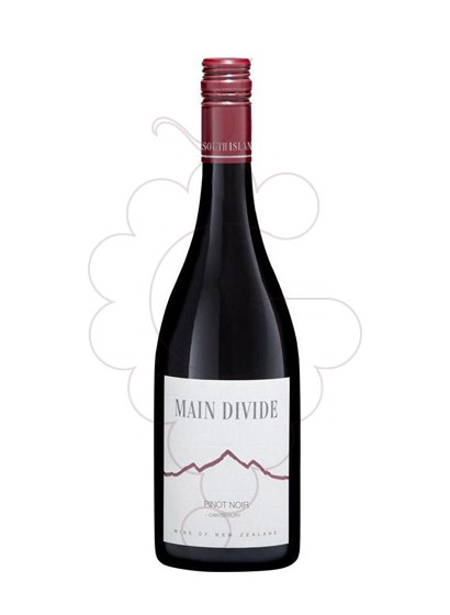 Foto Main Divide Pinot Noir vi negre