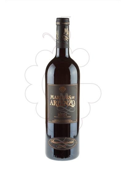 Foto Marqués de Arienzo Reserva Especial vi negre