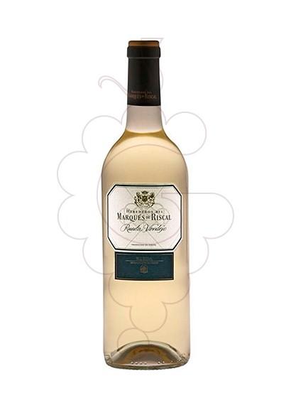 Foto Marques de Riscal Blanc Magnum vi blanc