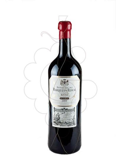 Foto Marques de Riscal Reserva Jeroboam vi negre