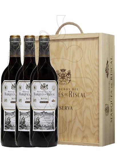 Foto Caixes regal Marques de Riscal Reserva (pack fusta 3 u.)