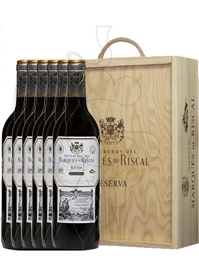 Foto Caixes regal Marques de Riscal Reserva (pack fusta 6 u.)