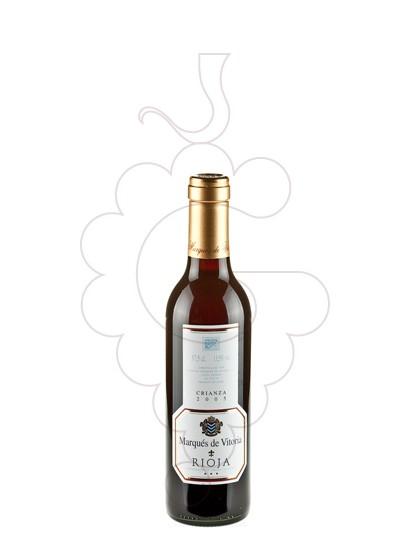 Foto Marques de Vitoria Crianza (mini) vi negre