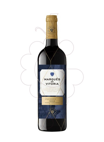 Foto Marques de Vitoria Gran Reserva vi negre