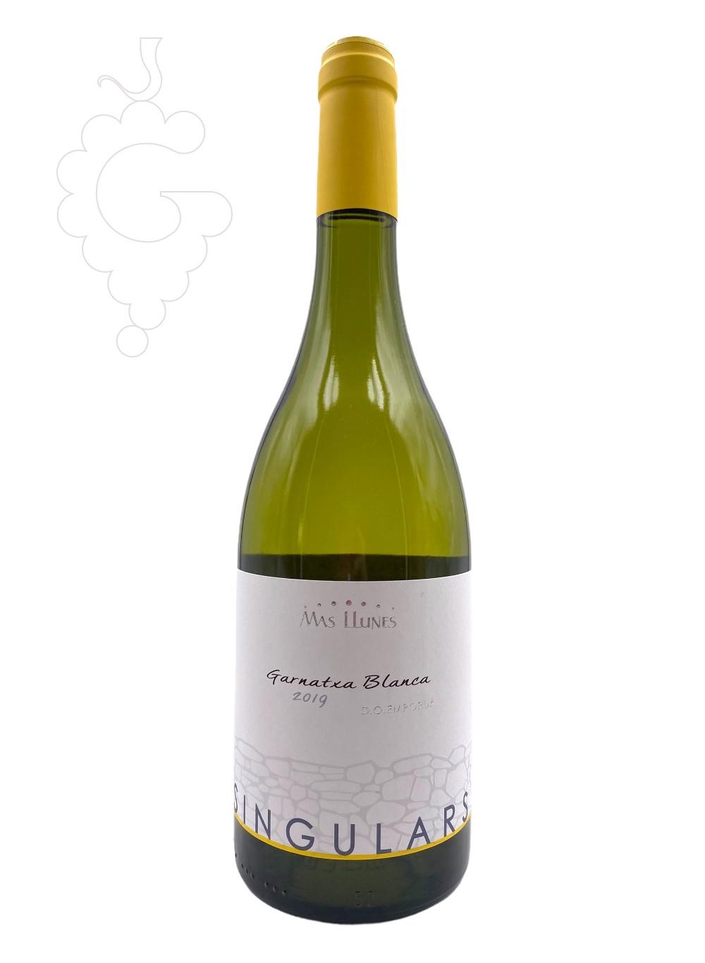 Foto Mas Llunes Singulars Garnatxa Blanca vi blanc
