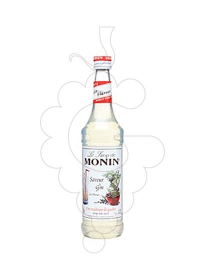 Foto Xarops Monin Saveur Gin (s/alcohol)