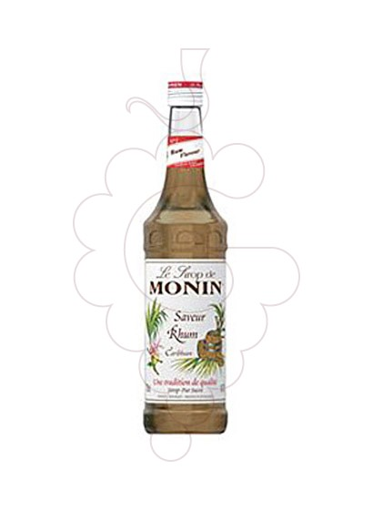 Foto Xarops Monin Saveur Rhum (s/alcohol)