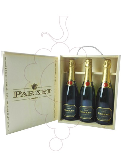 Foto Caixes regal Parxet Brut Nature Pack (3 u)