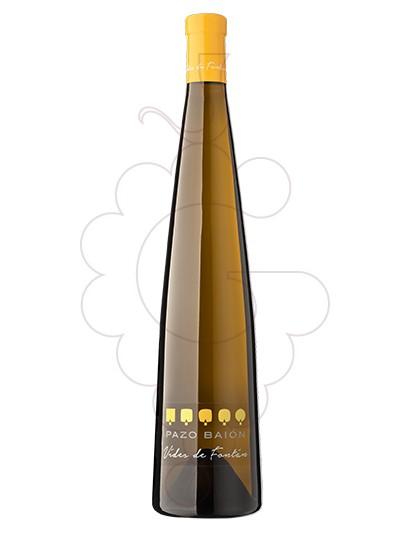 Foto Albariño Pazo Baión Vides de Fontán vi blanc